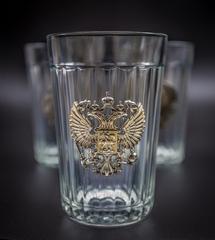 Подарочный набор из 3 граненых стаканов «Неподвластный времени», фото 10
