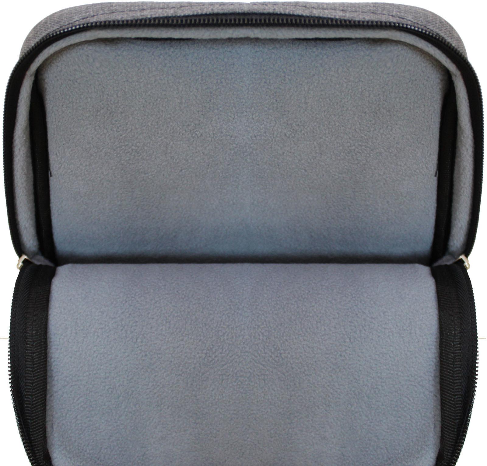 Рюкзак Bagland под планшет 2 л. 321 серый (0050969)