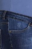 Шорты для беременных 09684 синий