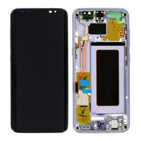 LCD SAMSUNG Galaxy S8 G950F + Touch + Frame Purple Orig
