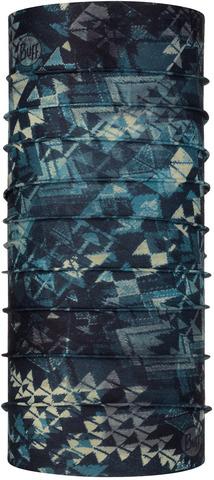 Бандана-труба летняя с защитой от насекомых Buff CoolNet Insect Shield Laertes Stone Blue фото 1