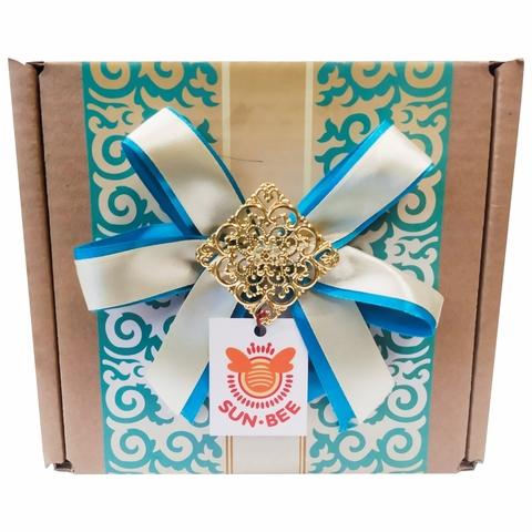 Мед SUN-BEE Подарочная коробочка №4 КАЗАХСТАН