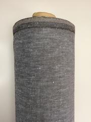 Отрез 0,45м, Шерсть/лен Коричневый твид