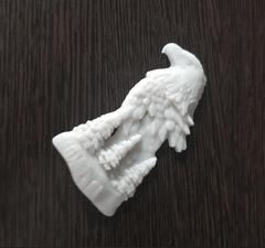 Силиконовый молд № 368 Орел на скале левый