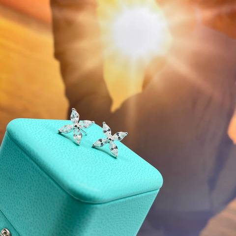Серьги Tiffany &Co