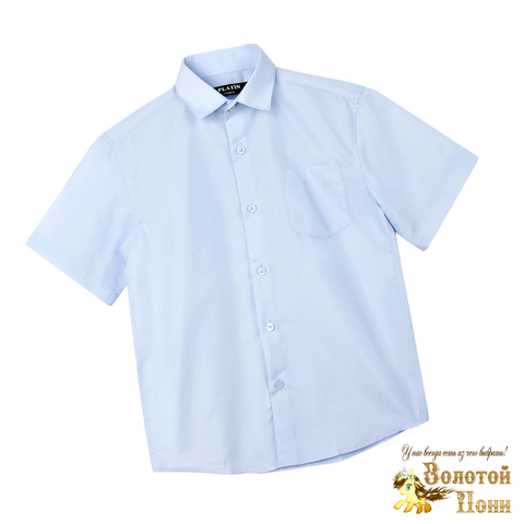 Рубашка школьная мальчику (116-164) 210531-Р2936.2