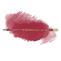 Карандаш художественный акварельный MONDELUZ, цвет 132 карминовый красный