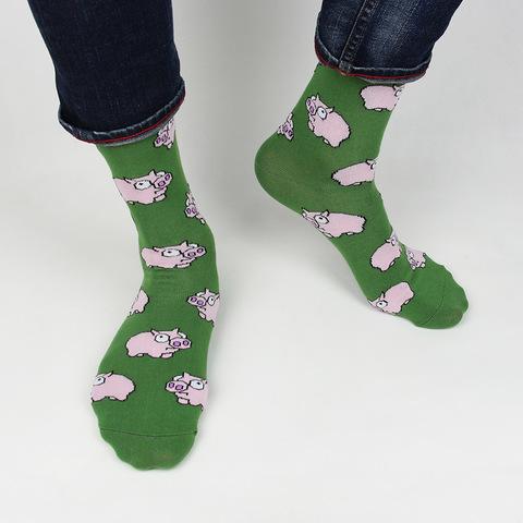 Носки Green Pig