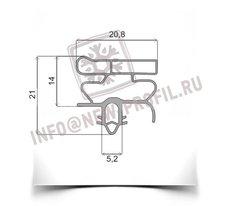 Уплотнитель для холодильника  Electrolux ERB34090X м.к 700*570 мм (010)