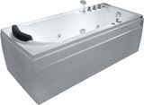 Гидромассажная ванна Gemy G9006-1.7 B R 172х77