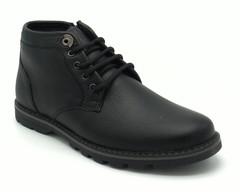 Ботинки черного цвета.Натуральная кожа