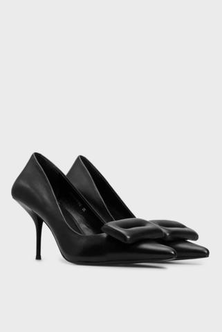 Женские черные кожаные туфли Mersedes PRPY