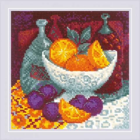 Набор для вышивания крестом «Апельсины» (1859)