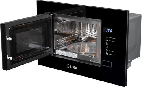Микроволновая печь Lex Bimo 20.01 20л. 700Вт черный (встраиваемая)