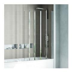Шторка на борт ванны со сдвижными дверьми 100х150 см Ideal Standard Connect T9926EO фото