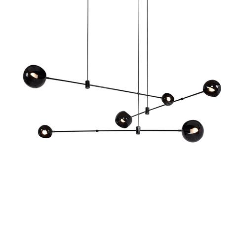 Потолочный светильник копия Hennen Acaba No 435 by David Weeks Studio (6 плафонов)