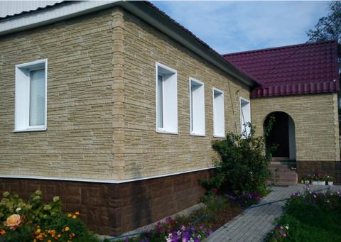 Фасадная панель Альта Профиль Гранит Балканский 1130х470 мм