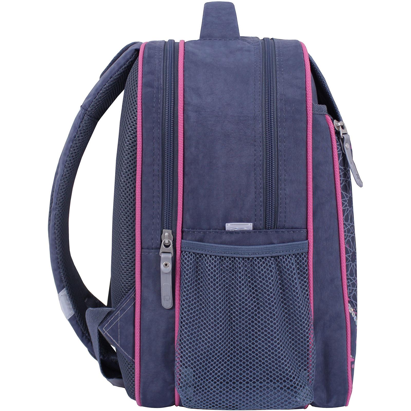 Рюкзак школьный Bagland Отличник 20 л. 321 серый 511 (0058070) фото 2