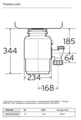 Измельчитель пищевых отходов In-Sink Erator Evolution 200 Supreme