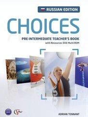 Choices Russia Pre-Int TB +DVD