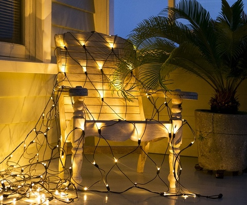 Гирлянда новогодняя сетка 2 метра на 2 метра 320 LED