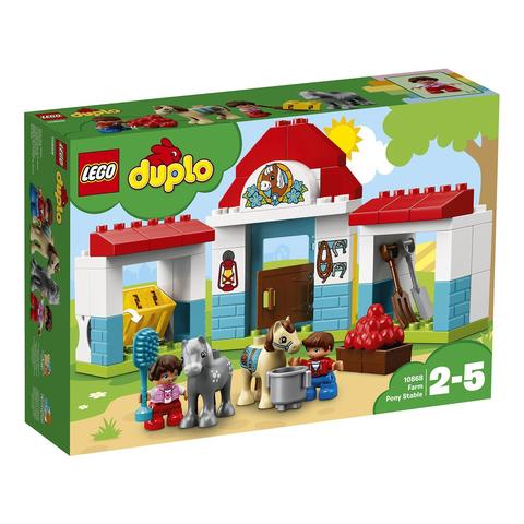 LEGO Duplo: Конюшня на ферме 10868 — Farm Pony Stable — Лего Дупло