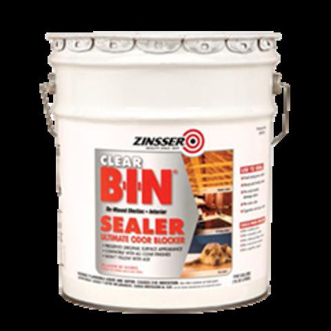 Zinsser BIN Advanced Synthetic Shellac Sealer Clear силер блокирующий едкие запахи