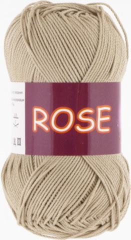 Пряжа Rose (Vita cotton) 3943 Бежевый