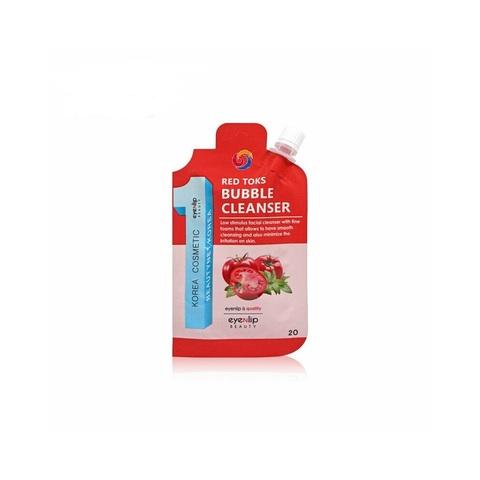 Eyenlip Пенка для умывания с томатом Ceramide Red Toks Bubble Cleanser, 20 гр