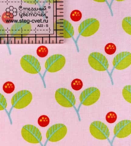 Ткань для пэчворка, хлопок 100% (арт. RB0616)