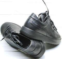 Демисезонные кеды кроссовки для повседневной носки мужские Ikoc 1725-1 Black.