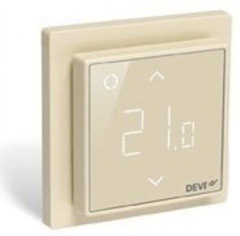 Devi DEVIreg Smart Wi-Fi Ivory - терморегулятор, цвет бежевый (140F1142)