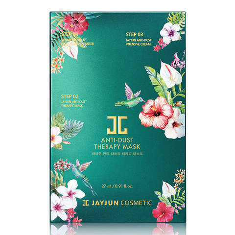 JayJun Anti-Dust Therapy Mask, Детокс-комплекс для восстановления кожи 10шт