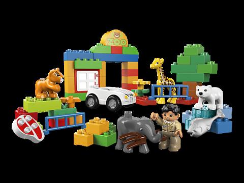 LEGO Duplo: Мой первый зоопарк 6136 — My First Zoo — Лего Дупло