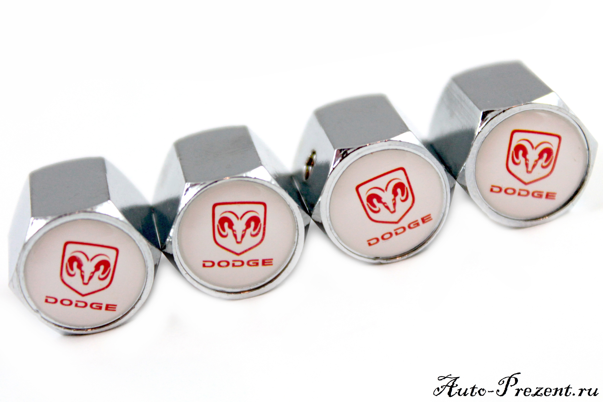 Колпачки на ниппель DODGE с защитой от кражи