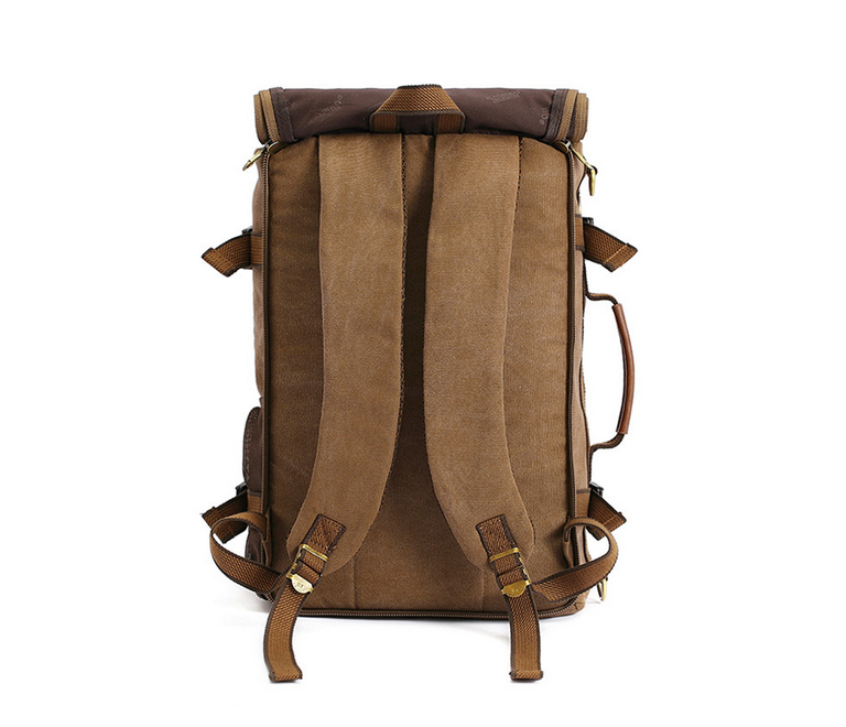 BAG367-2 Вместительный мужской рюкзак -трансформер из качественного текстиля фото 04