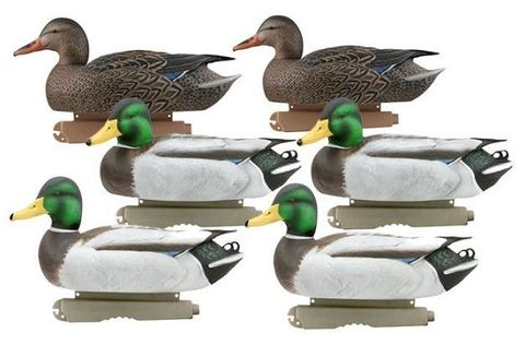 Чучела GreenHead Gear Pro-Grade Mallards 6 штук