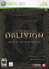 The Elder Scrolls IV: Oblivion - Game of the Year Edition (Xbox 360 - Xbox One/Series X, английская версия)