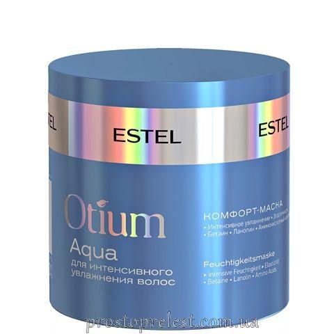 Estel Otium Aqua Mask - Комфорт-маска для інтенсивного зволоження волосся