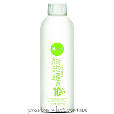 BBcos Keratin Color Oxigen Cream 10 Vol - Окислювач кремообразний 3%