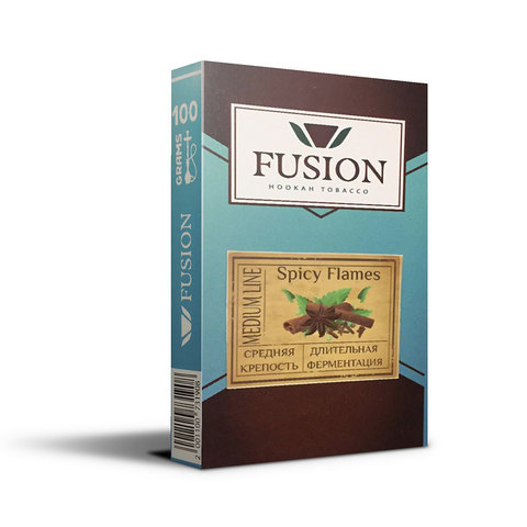 Табак Fusion Medium Spicy Flames 100 г