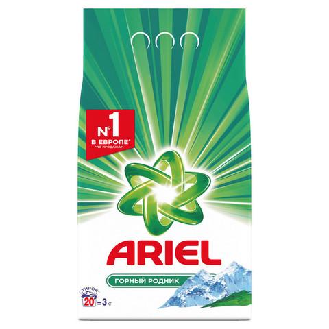 Порошок стиральный автомат Ariel Горный родник 3 кг