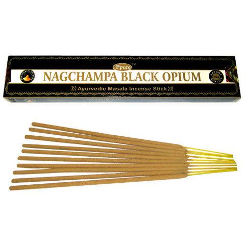 Индийские палочки Ppure NagChampa Black Opium