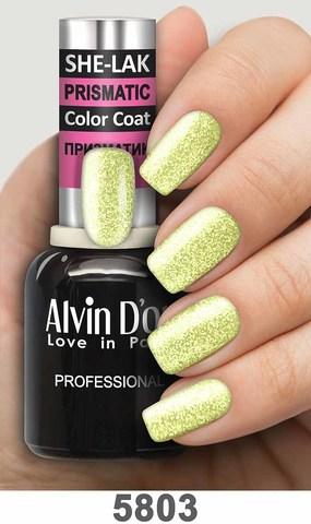 Alvin D`or Лак для ногтей SHE-LAK PRISMATIC  тон 5803 -8мл