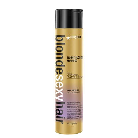 Sexy Hair Blonde: Шампунь корректирующий сияющий блонд (Bright Blonde Shampoo)