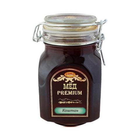 Каштановый натуральный мёд 1000 г