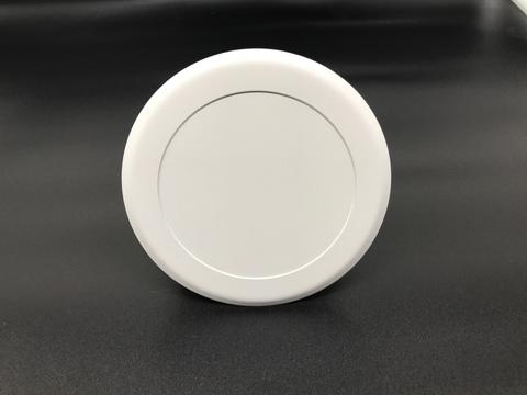 Диффузор приточно-вытяжной на магнитах регулируемый ДК-125 круглый металлический белый