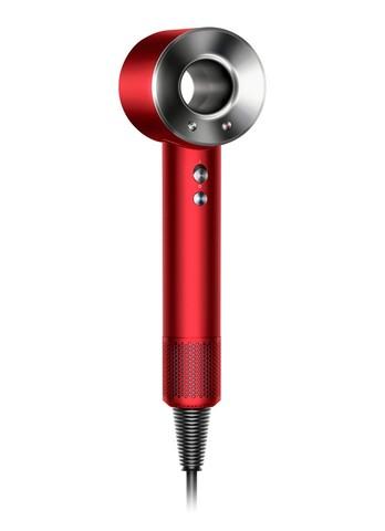 Фен Dyson Supersonic HD03 красный в красном чехле