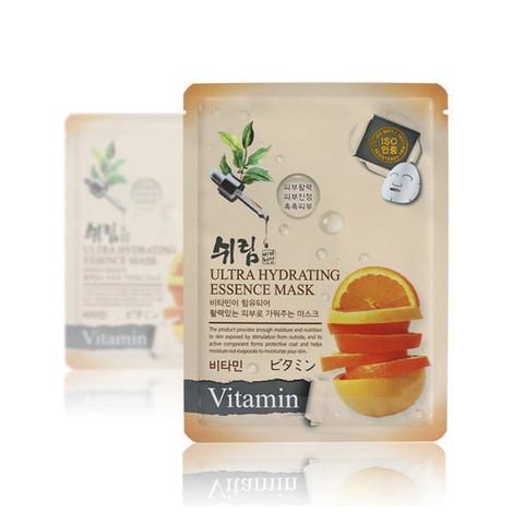 Маска тканевая для лица витаминная Shelim Hydrating Essence Mask - Vitamin