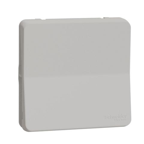 Выключатель одноклавишный. Цвет Белый. Schneider Electric(Шнайдер электрик). Mureva styl(Мурева стайл). MUR39027